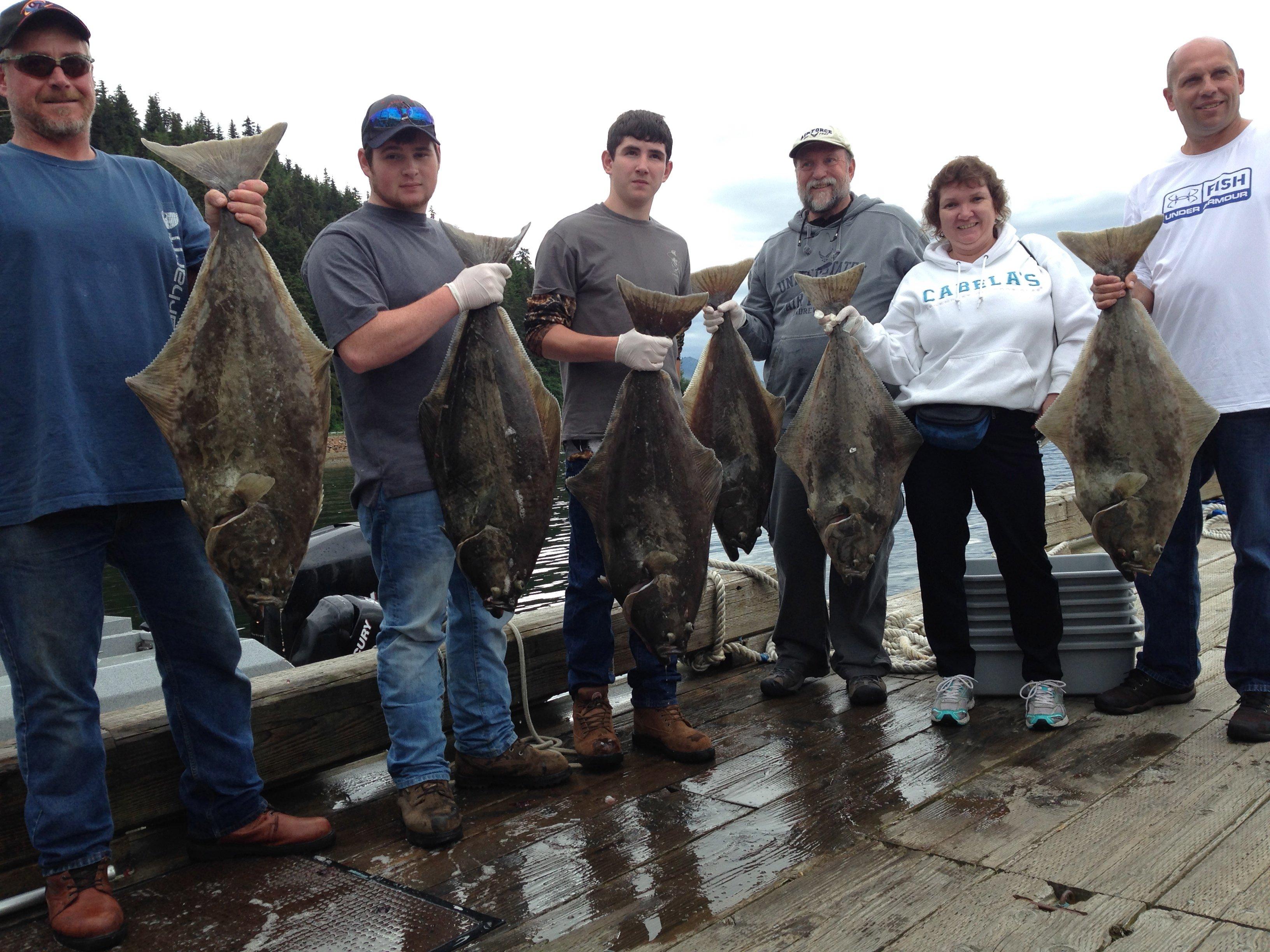 Salmon Halibut Fishing Hoonah