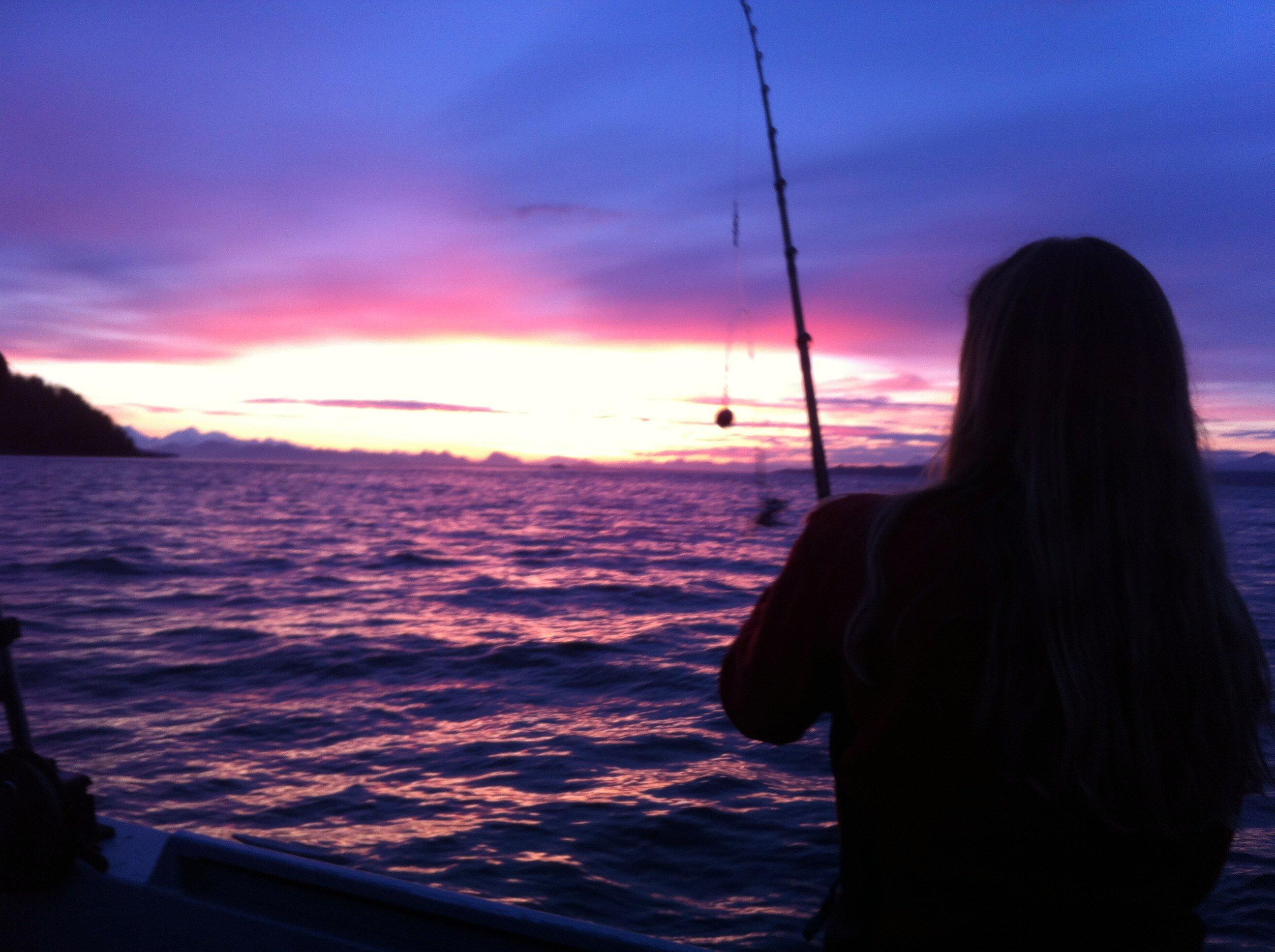 Halibut Fishing Salmon Hoonah AK